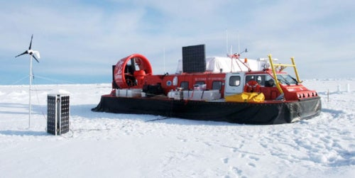 Dream Job: Scientists Search for Arctic Asteroids on Hovercraft