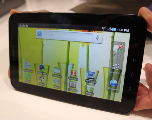 A Quick Look at Samsung's Galaxy Tab Shows It's a Lot Better Than I Expected