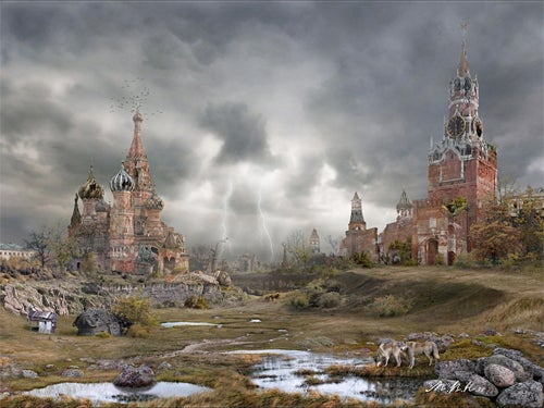 Post-Apocalyptic Moscow Looks Like A Surreal Dream-World