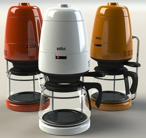 Braun's Classic Coffee Pot Remade for The Jetsons
