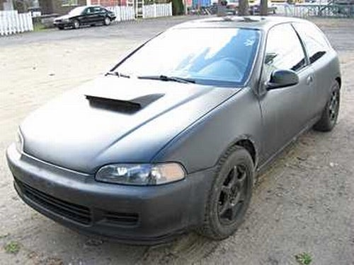 "The ""Hondabaru,"" A WRX-Powered Civic, Up For Sale"