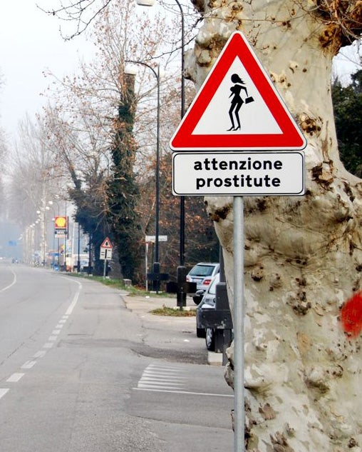 The Greatest Road Sign Ever