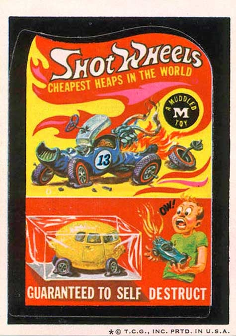 Life Imitates Art, 80s Style: Shot Wheels Cars