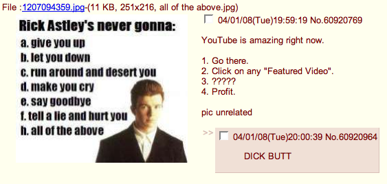 The Inventors Of The Rickroll Respond To The Joke's Popularization