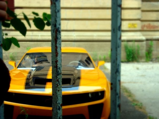 One More Shot Of Bumblebee's Newish Camaro SS Nose
