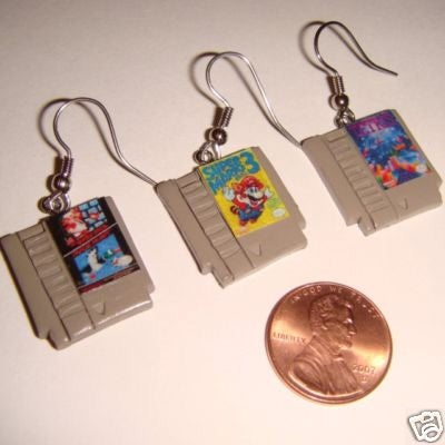 Incredible Gamer Earrings: Too Much, Or Just Enough?