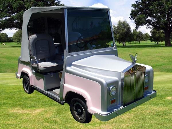 Mercedes benz golf cart is the new rolls royce golf cart for Mercedes benz golf cart