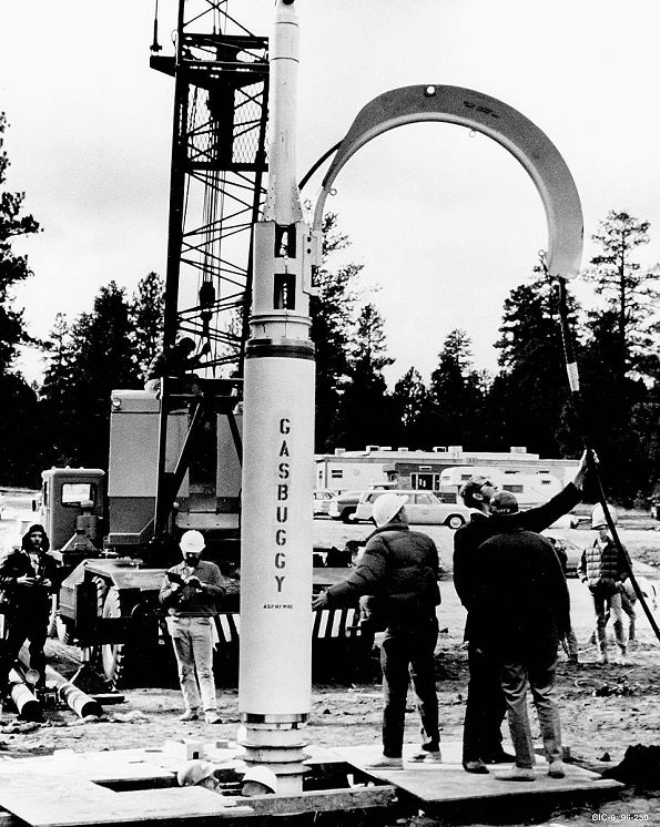 The U.S. Government Once Fracked Oil Wells Using Nuclear Bombs
