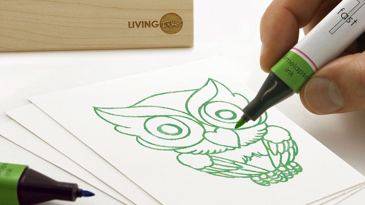 chia-pets crowdfunding kickstarter living-ink living-ink-technologies