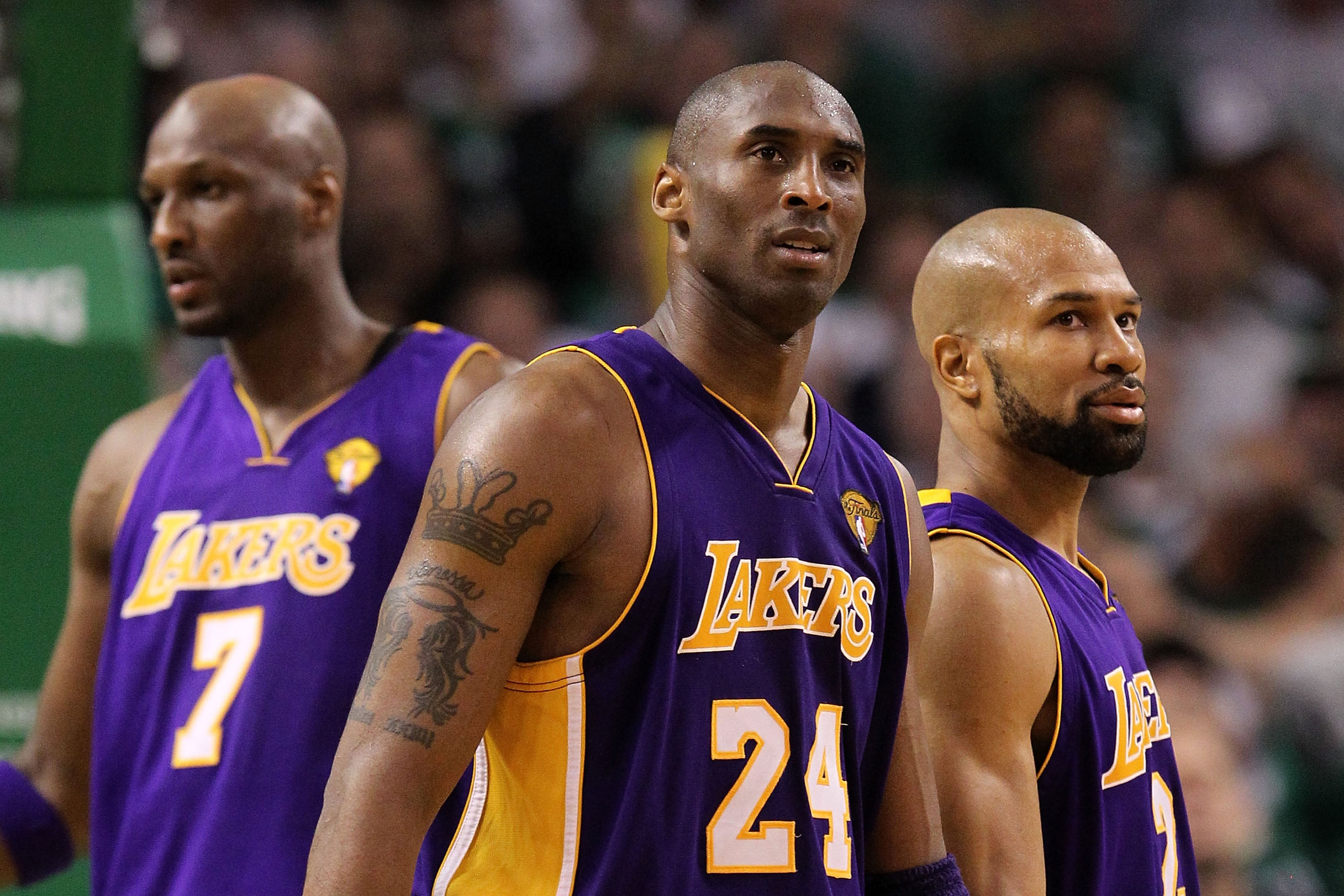 Cheer Up, Lamar Odom And Derek Fisher: Kobe's Going To Bring You Back Home