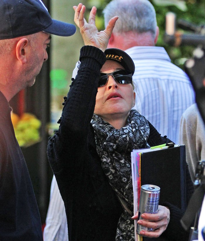 Madonna's Airplane Yoga Enrages Fellow Passengers