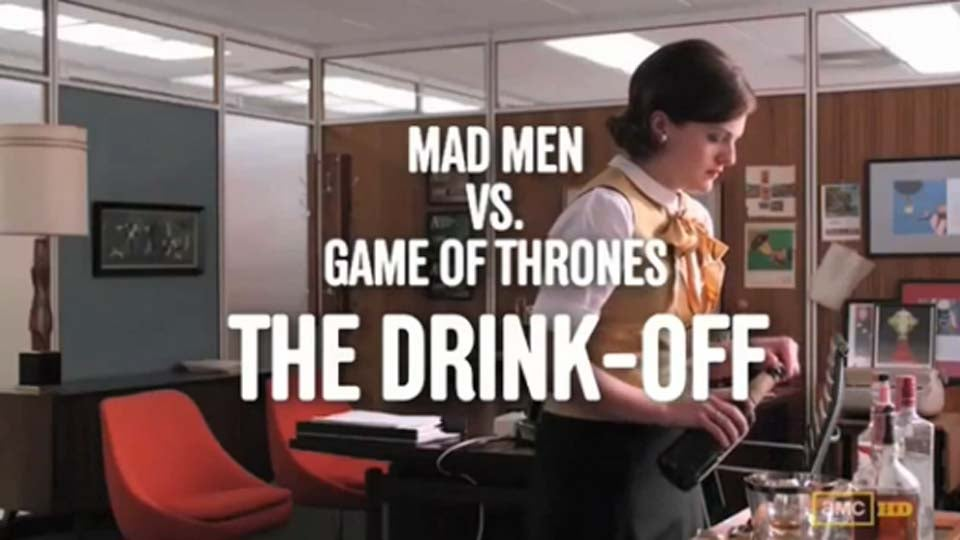 Who Would Win in a Drink-Off: Don Draper or Tyrion Lannister?