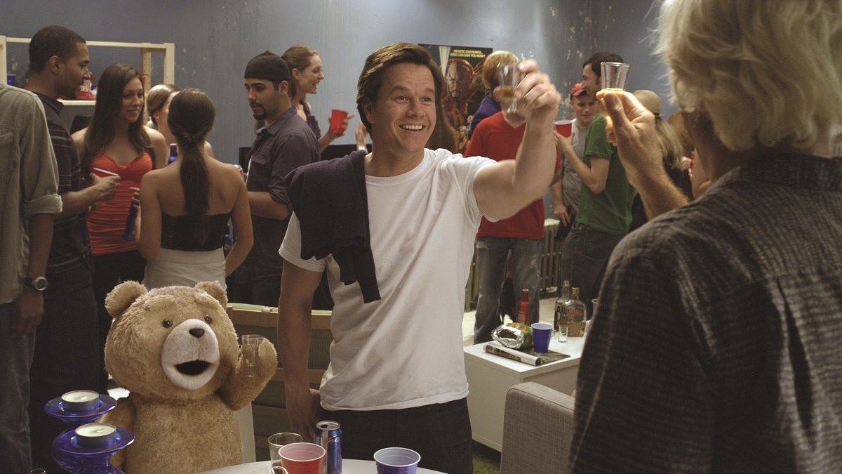 High-res Ted photos show you how to party like a teddy bear