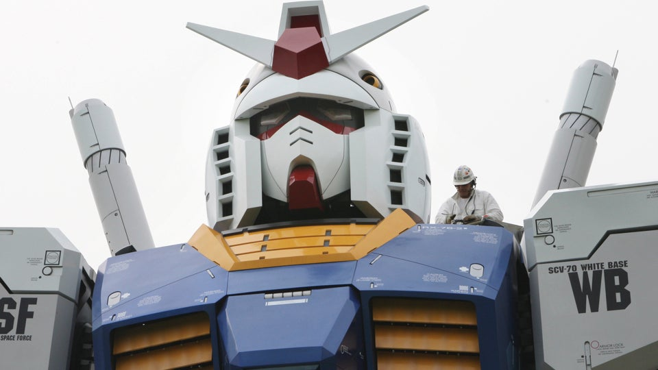 Japanese Politicians Are Thinking about Building Gundam. Like, Real, Working Gundam.