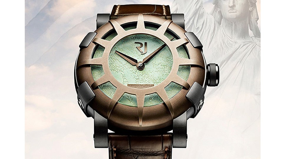 "Nothing Says ""I Love America"" Like a Watch Made From the Statue Of Liberty"