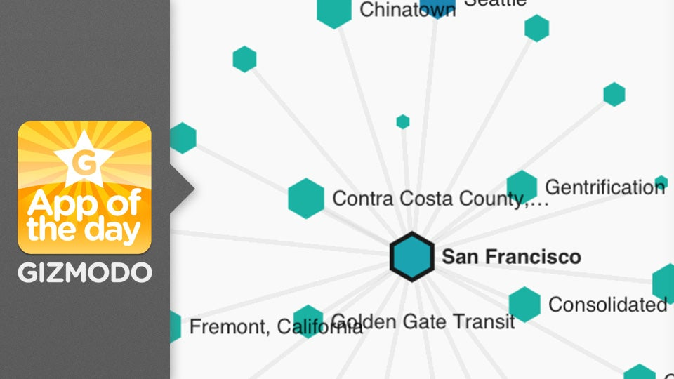 Wikiweb: The Connection Between Wikipedia Articles Beautifully Visualized