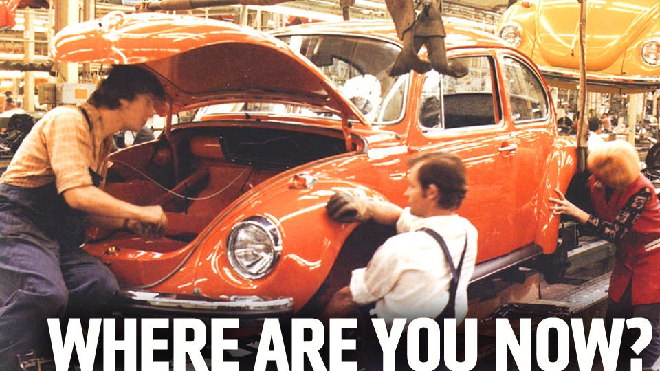 Help This Man Find His Mom's Old Volkswagen Beetle