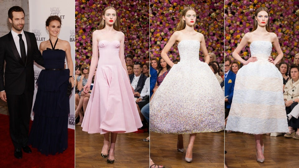 Did Natalie Portman Wear Dior To Her Wedding?