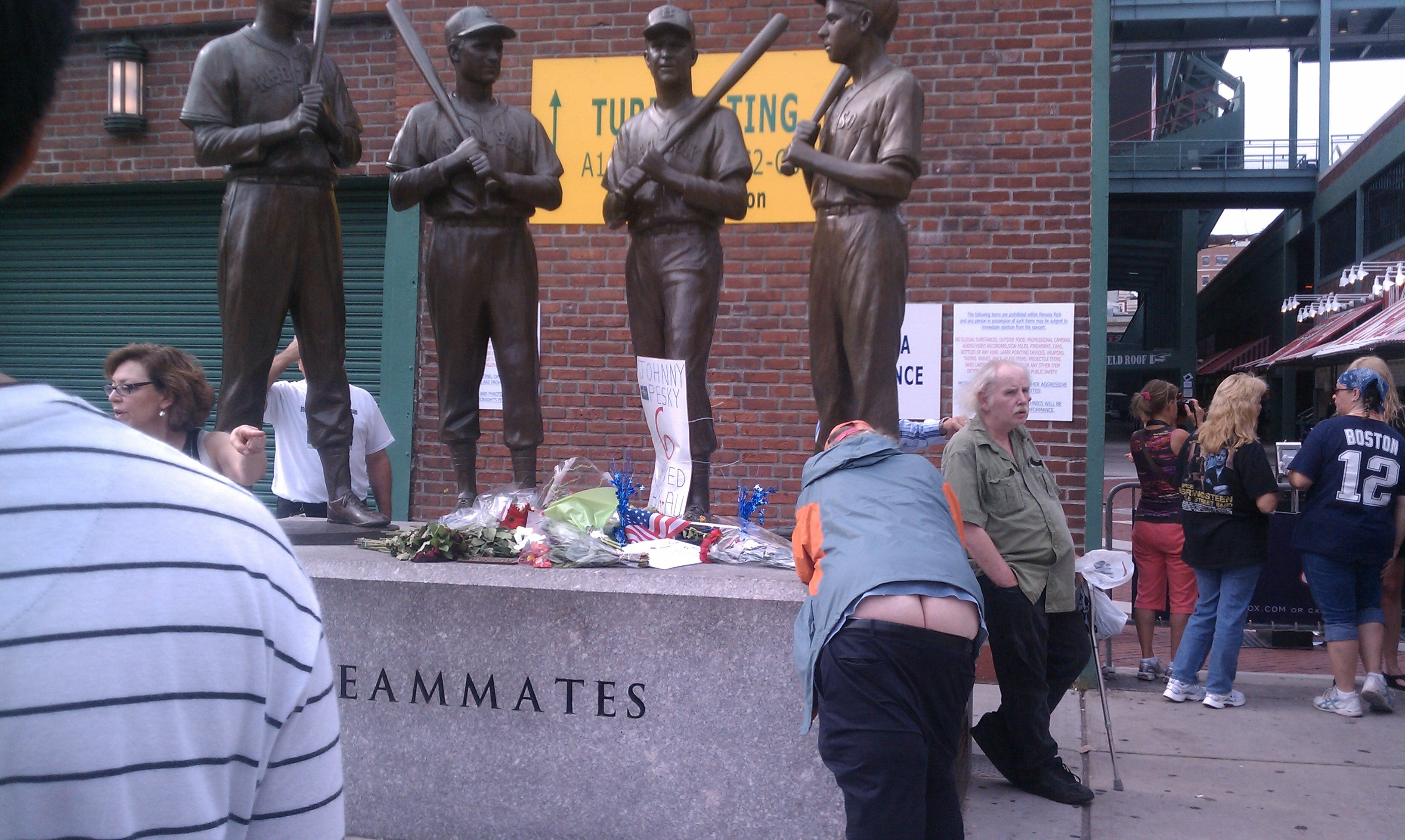 Red Sox (And Pants) Collapsing In Wake Of Johnny Pesky's Death