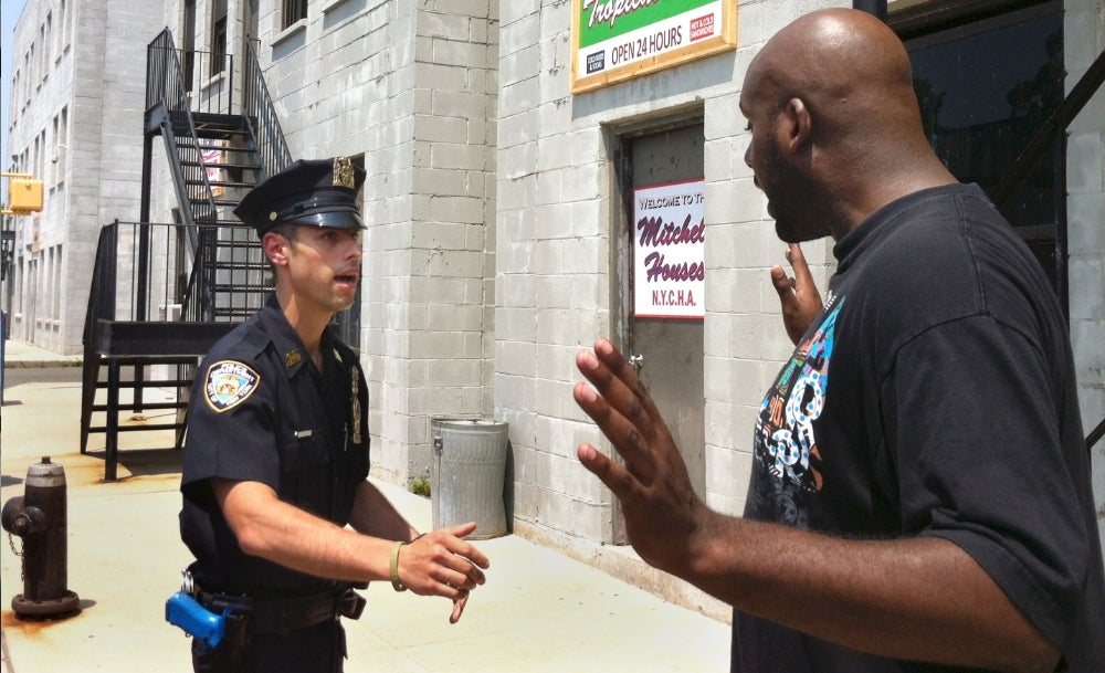 People Who Aren't Stopped and Frisked Are A-OK With the Stop and Frisk Program