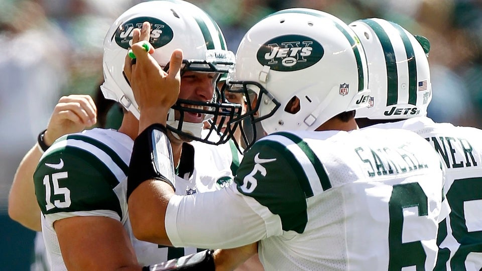 Maybe The Jets Really Are Not Planning On Using Tim Tebow At Quarterback