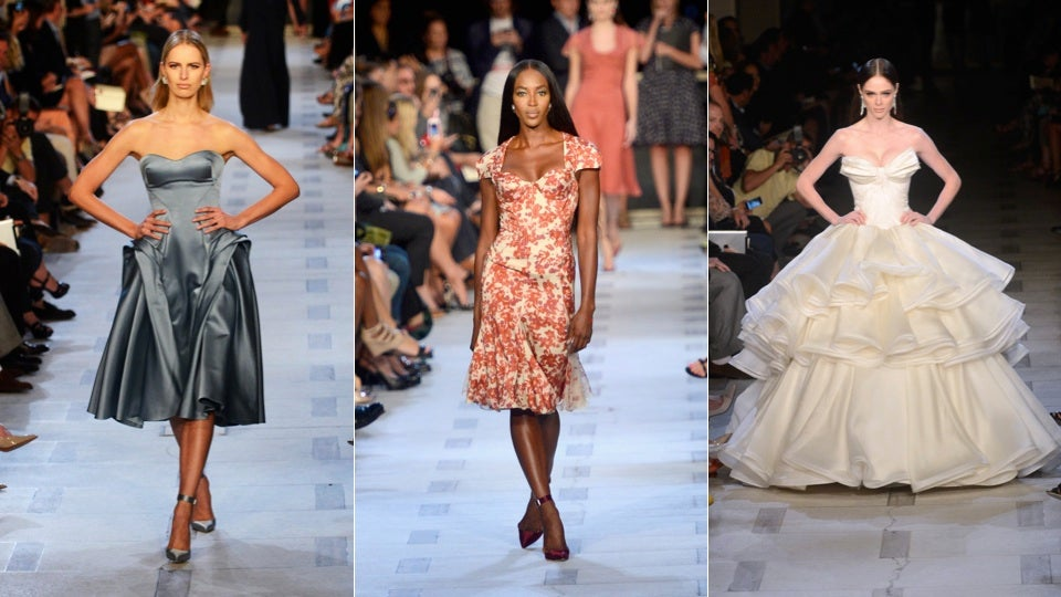 Naomi Campbell Was the Surprise Guest on the Runway at the Pretty Pretty Zac Posen Show