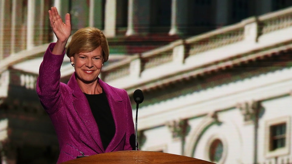 Tammy Baldwin Is a Totally Gross Lesbian for Daring Dance at Gay Pride Parade, Says Asshat Republican