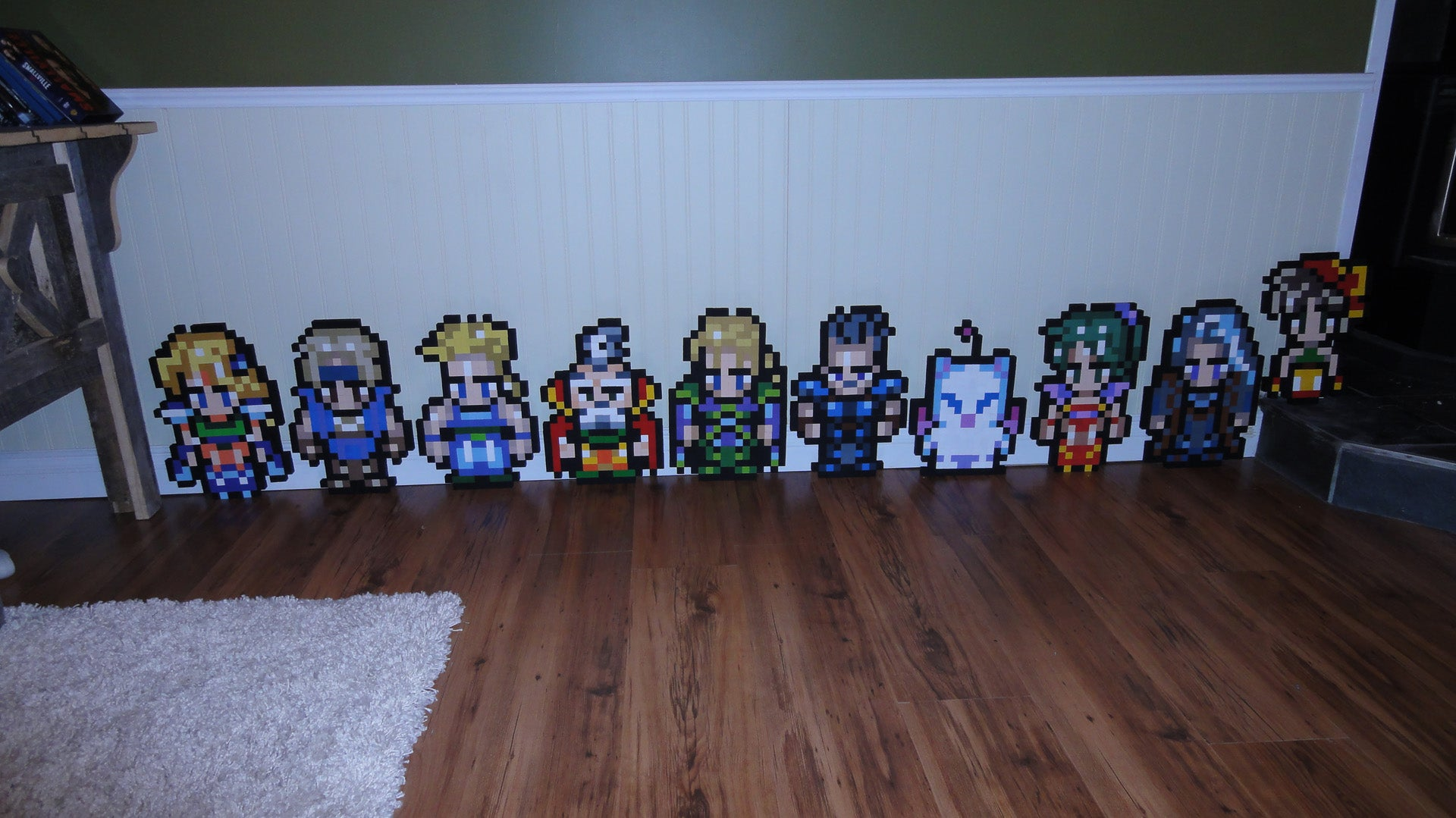 If You've Got the Wood, Money and Time You Too Could Fill Your Home with RPG Heroes