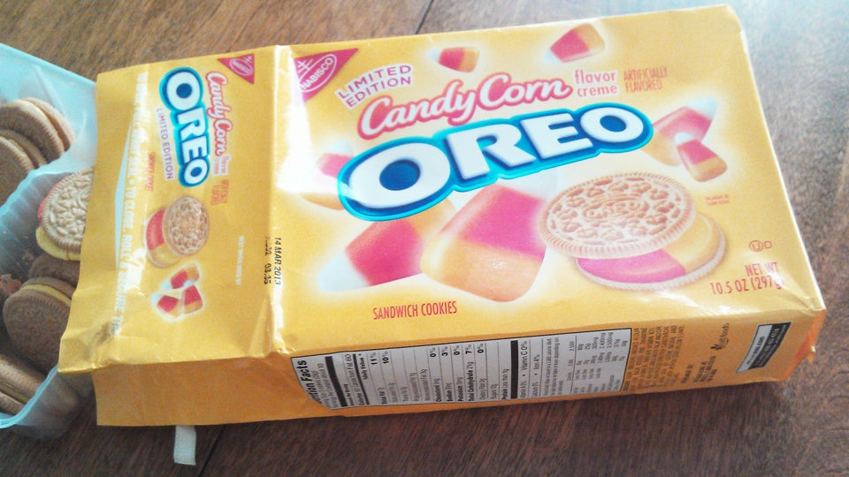 Taste Test: I Took a Candy Corn Oreo and Put It in My Mouth