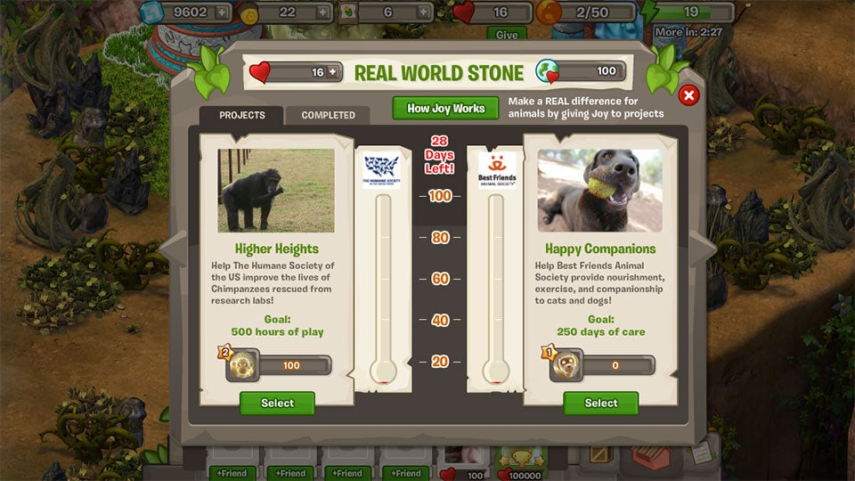Play This Facebook Game, Help Animals in Need
