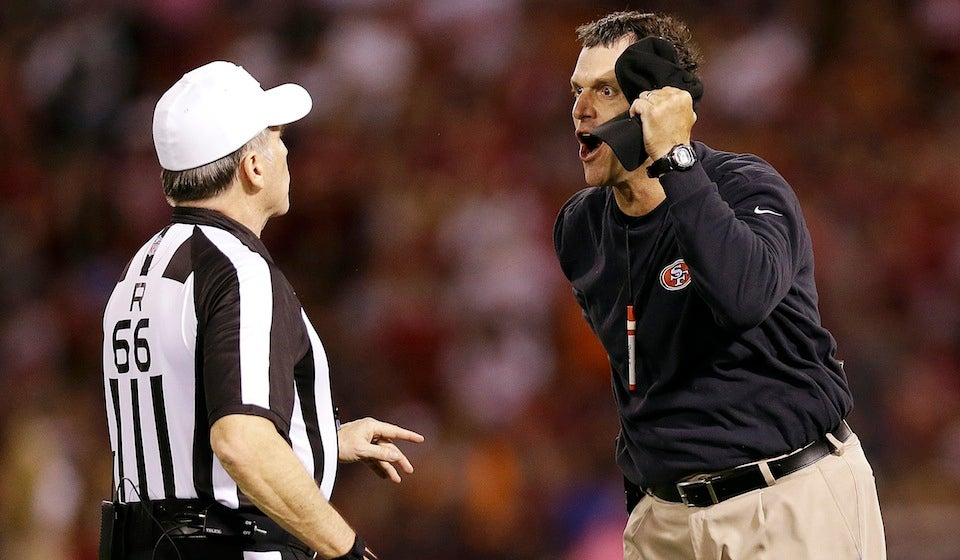 When Jim Harbaugh Declined That Safety, He Swung About $75 Million In Bets