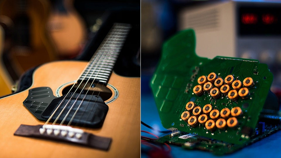 Moog LEV-96: Forget Synths, Moog Is Making a Batshit Acoustic Guitar or Something