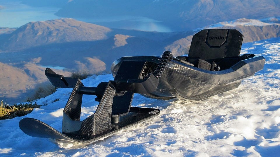 This Gorgeous Carbon Fiber Sled Could Be Your Perfect Post-Frankenstorm Ride