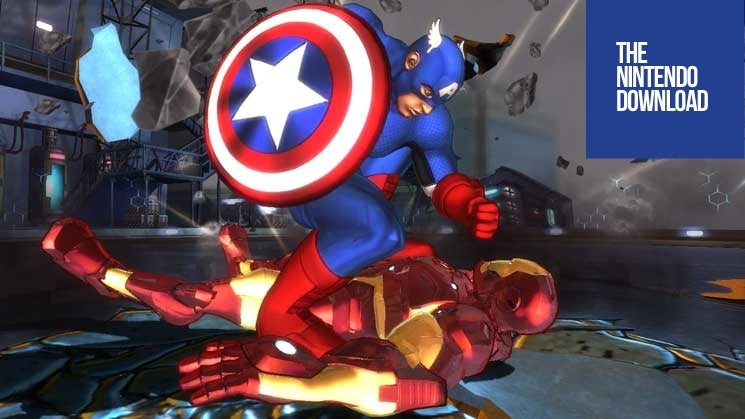 Captain America Reminds Iron Man That He Knows How to Actually Fight in This Week's Nintendo Download