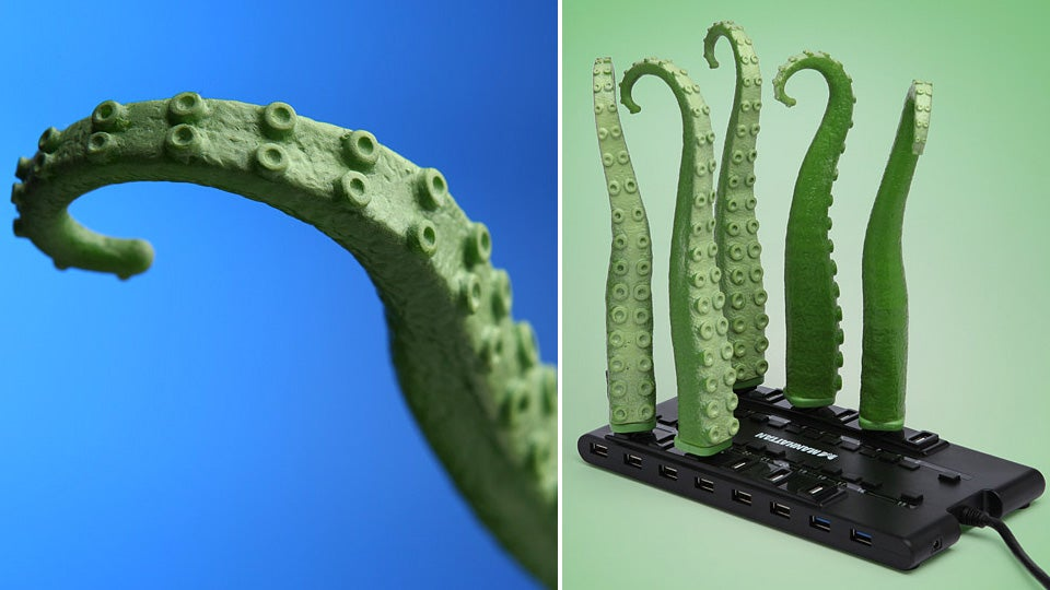 Wiggling USB Tentacle Means You'll Need To Download an Anti-Kraken App