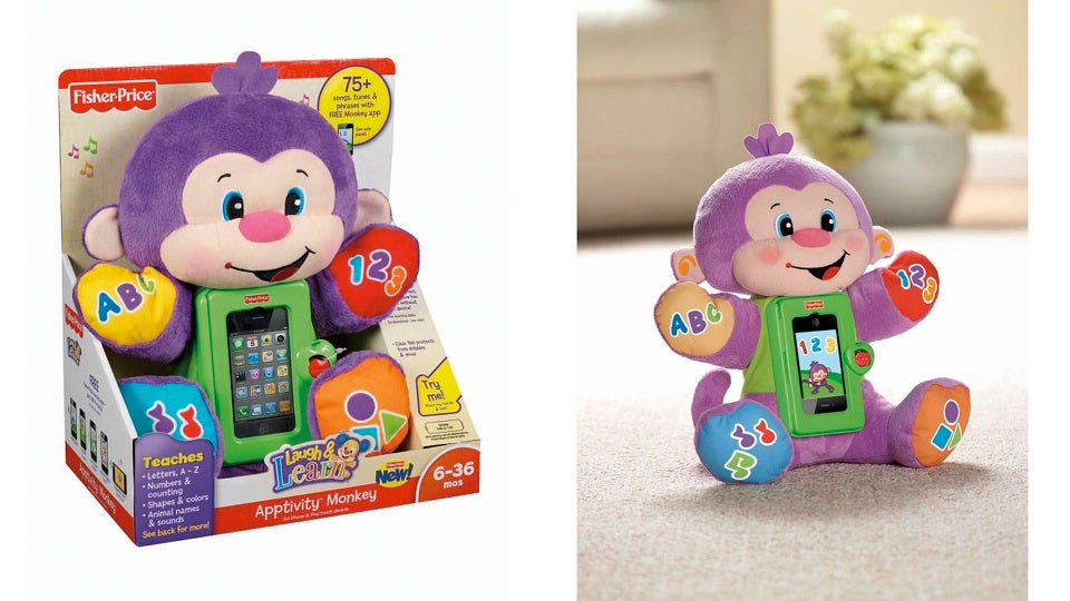 Meet the 'Apptivity Monkey,' the Worst Toy of the Year