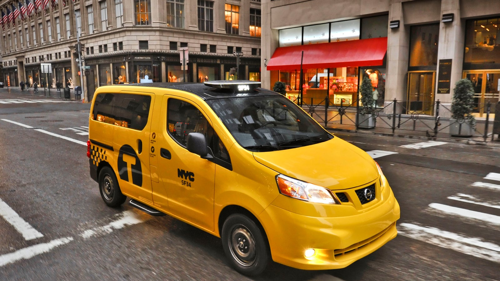 How Is New York's Nissan 'Taxi Of Tomorrow' Still Not Wheelchair-Friendly?