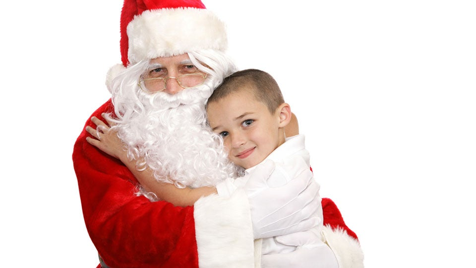 Bust Out the Christmas Kleenex: 'Dad' is Popular Santa Wish List Item for Kids