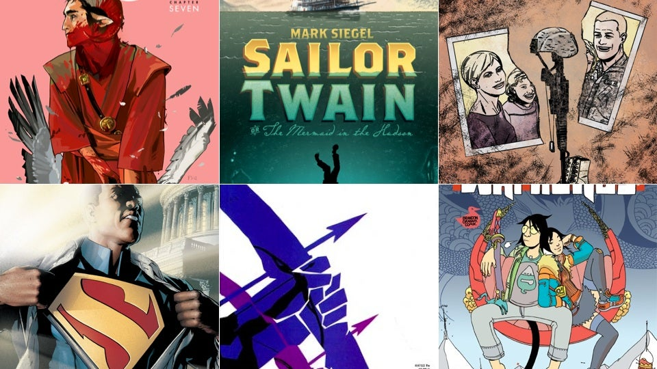 The Best Comics You Read in 2012