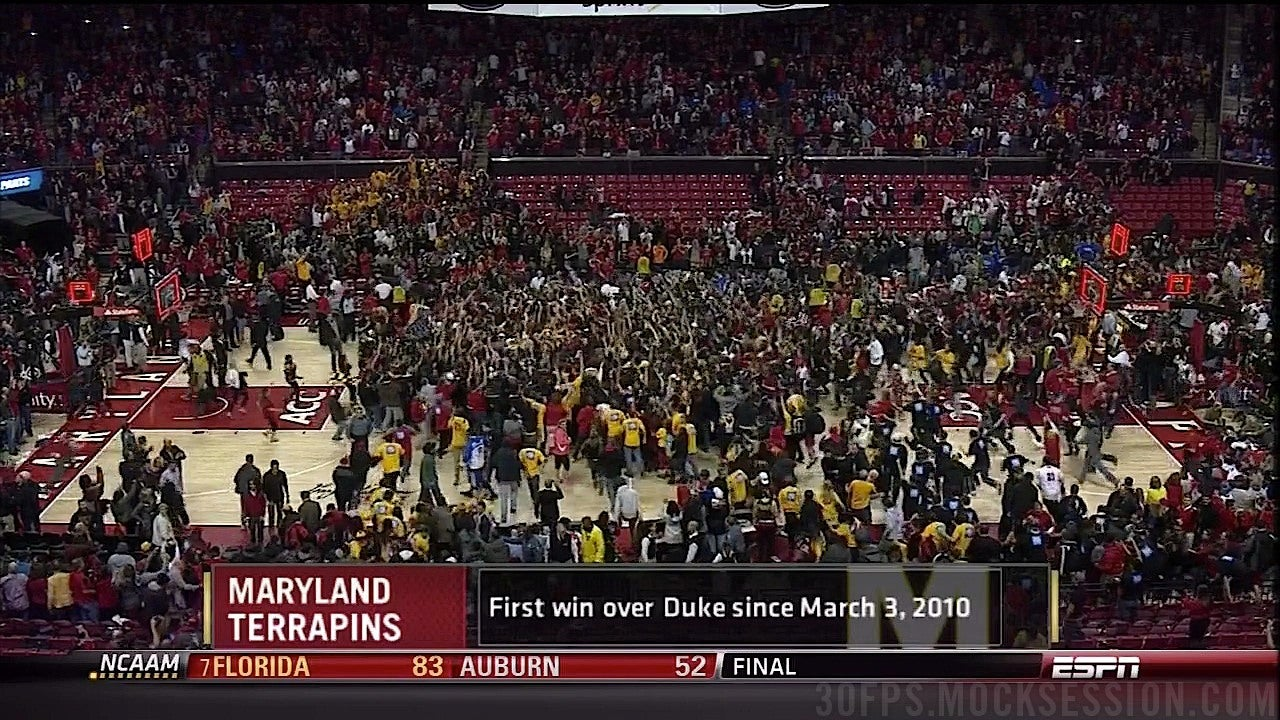 Maryland Scores Stunning Upset: Makes Mike Krzyzewski Sound Reasonable