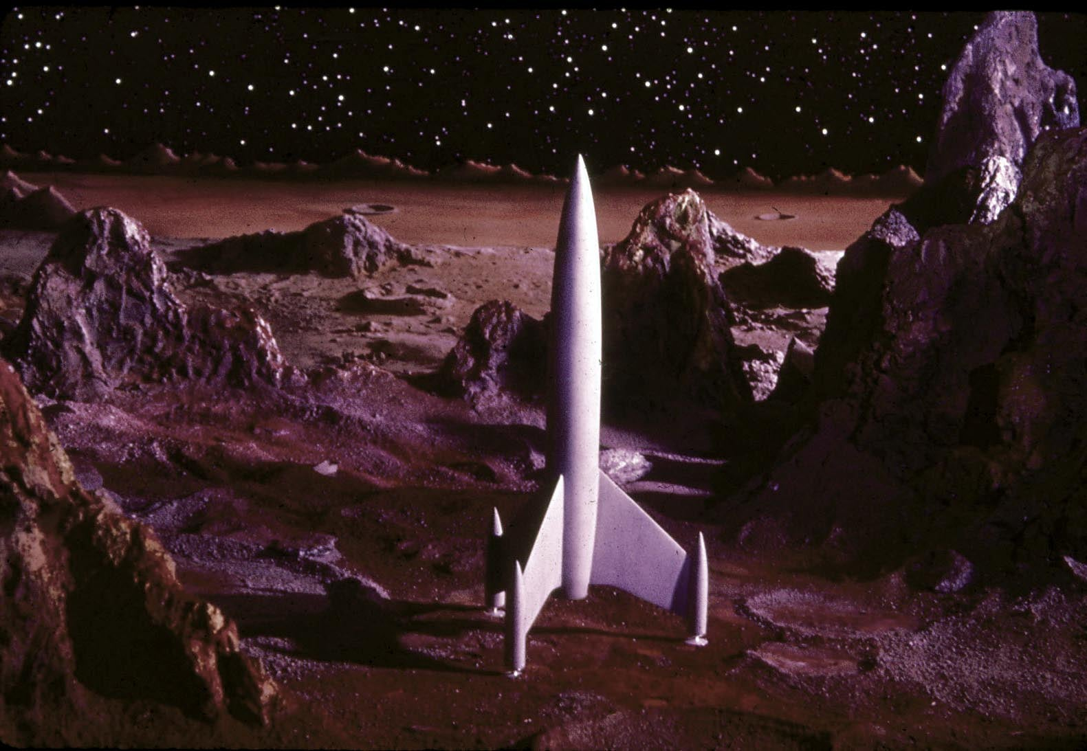 Scenes from the 1950s Space Movie That No One Saw