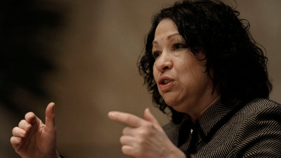 Sonia Sotomayor Brilliantly Shuts Down Racist Federal Prosecutor