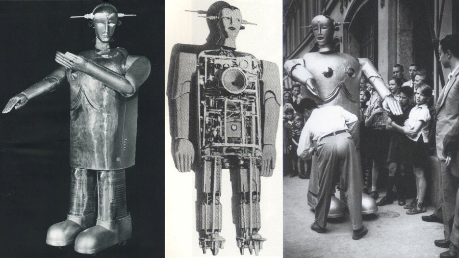 The robots of Europe are more debonair than you