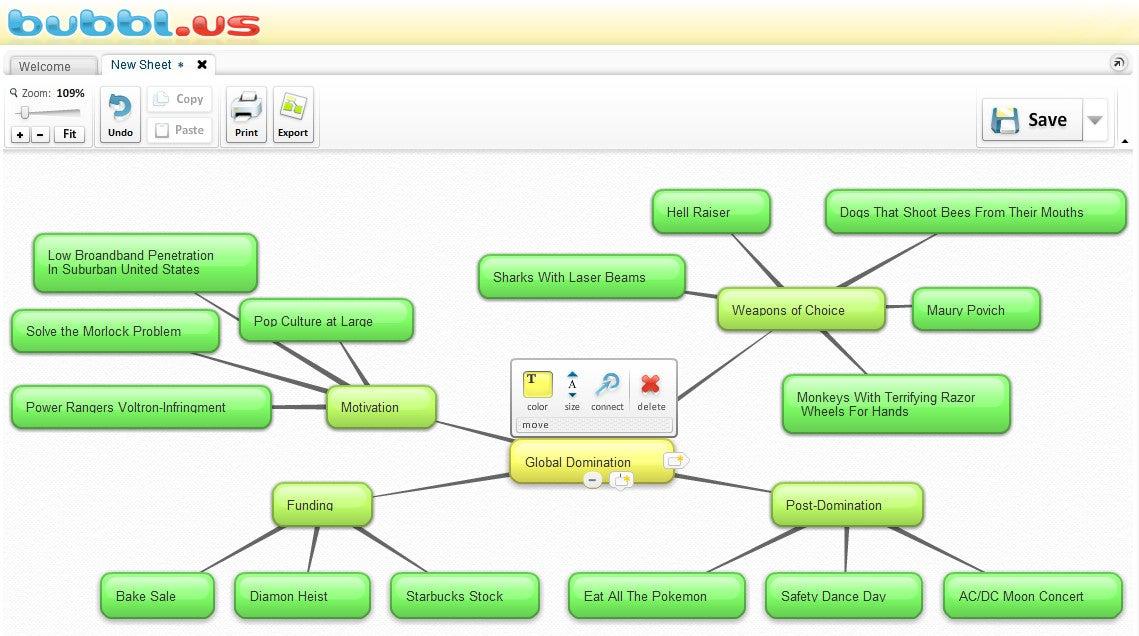 Create Polished Mind Maps At