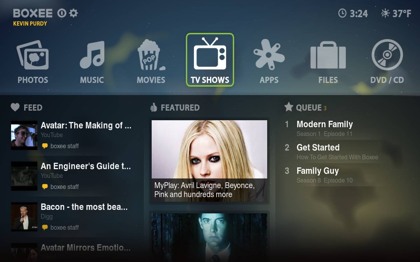 First Look at the Boxee Beta