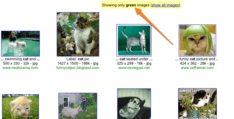 Search Google Images by Color