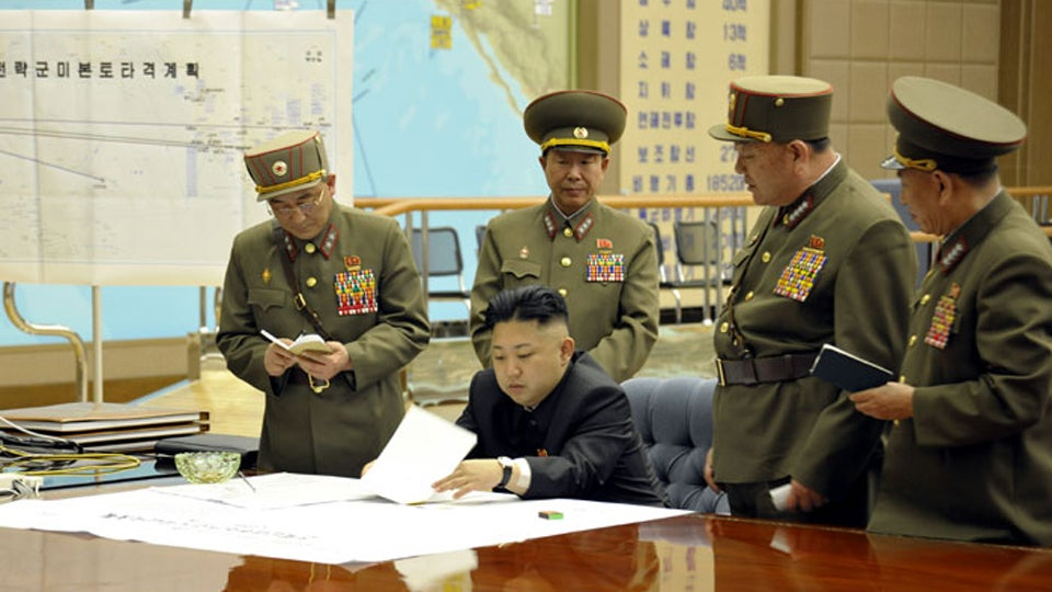 Photo Shows North Korea's 'U.S. Mainland Strike Plan': L.A., D.C. and Austin, Texas
