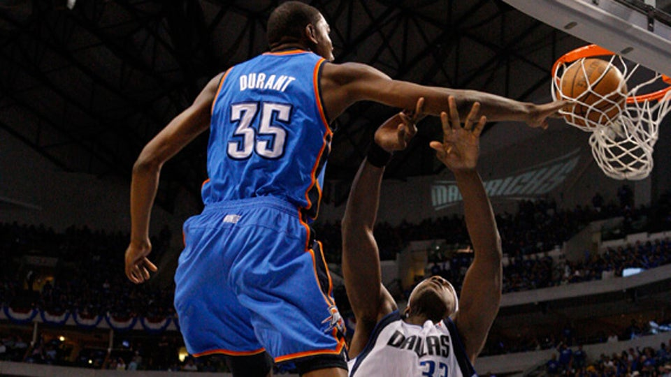 It Was Totally Not Brendan Haywood's Fault That Kevin Durant Posterized Him, Says Brendan Haywood