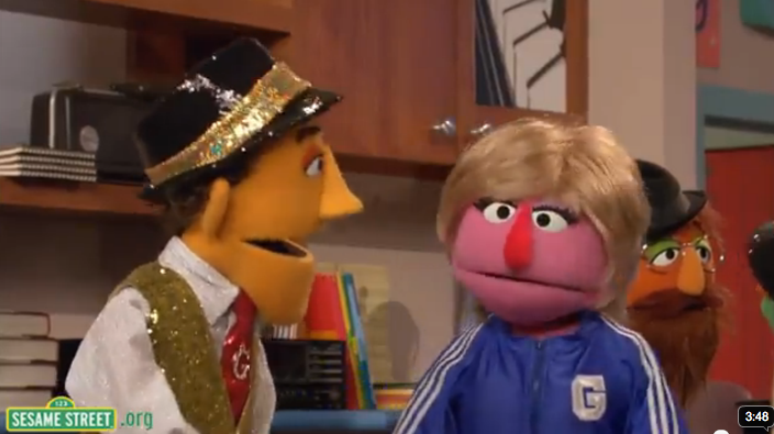 Even Sesame Street Wants to Poke Fun at Glee