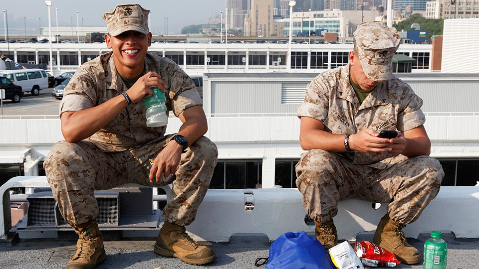 Fleet Week Sailors Can Have All the Dirty Gay Internet Sex They Want
